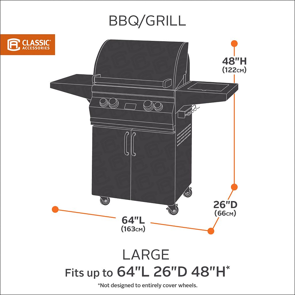Classic Accessories Sodo Medium Barbeque Grill Cover