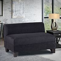 Carolina Accents Makenzie Armless Loveseat