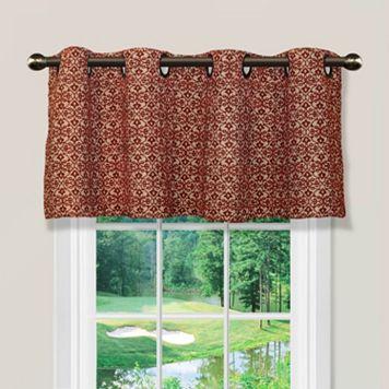 Spencer Home Decor Foulard Window Valance - 54'' x 16''