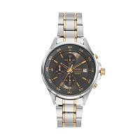 Seiko Men's Two Tone Stainless Steel Chronograph Watch - SKS481