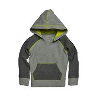 Baby Boy Burt's Bees Baby Organic Colorblock Thermal Hoodie