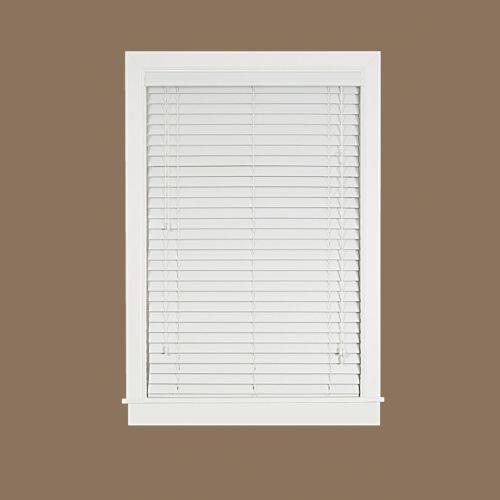 Madera Falsa Room Darkening 2'' Slat Faux-Wood Plantation Blinds