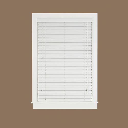 Madera Falsa Room Darkening 2'' Slat Faux-Wood Plantation Blinds