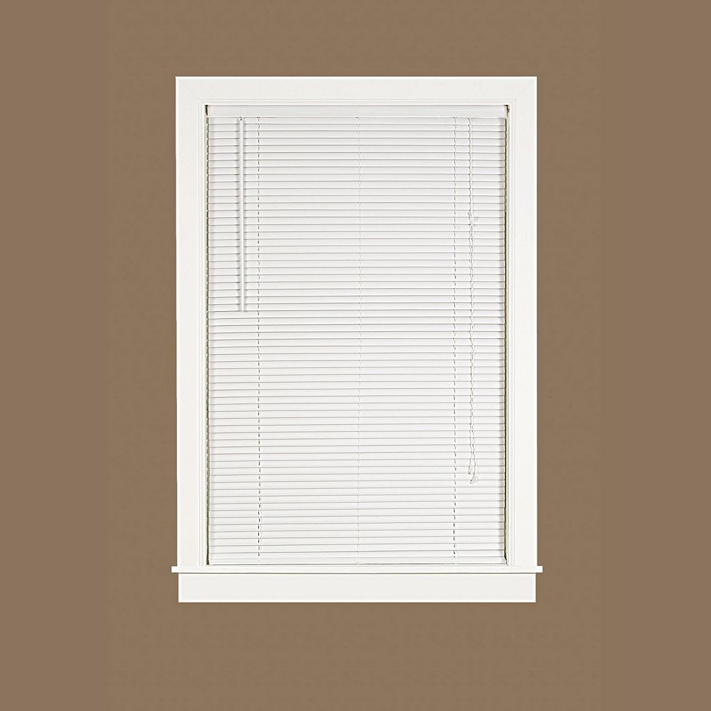 Deluxe Sundown Room Darkening 1'' Slat Vinyl Blinds