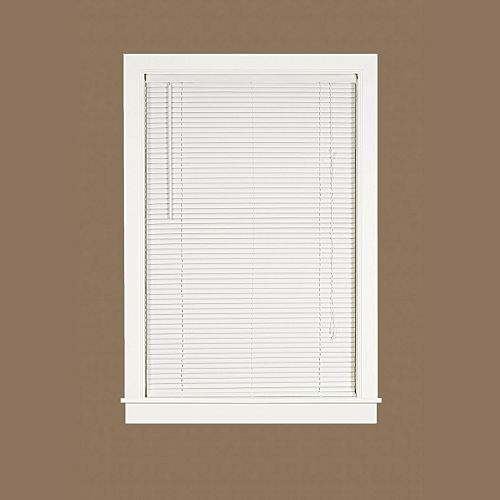 Deluxe Sundown 1-in. Slat Vinyl Mini Blinds