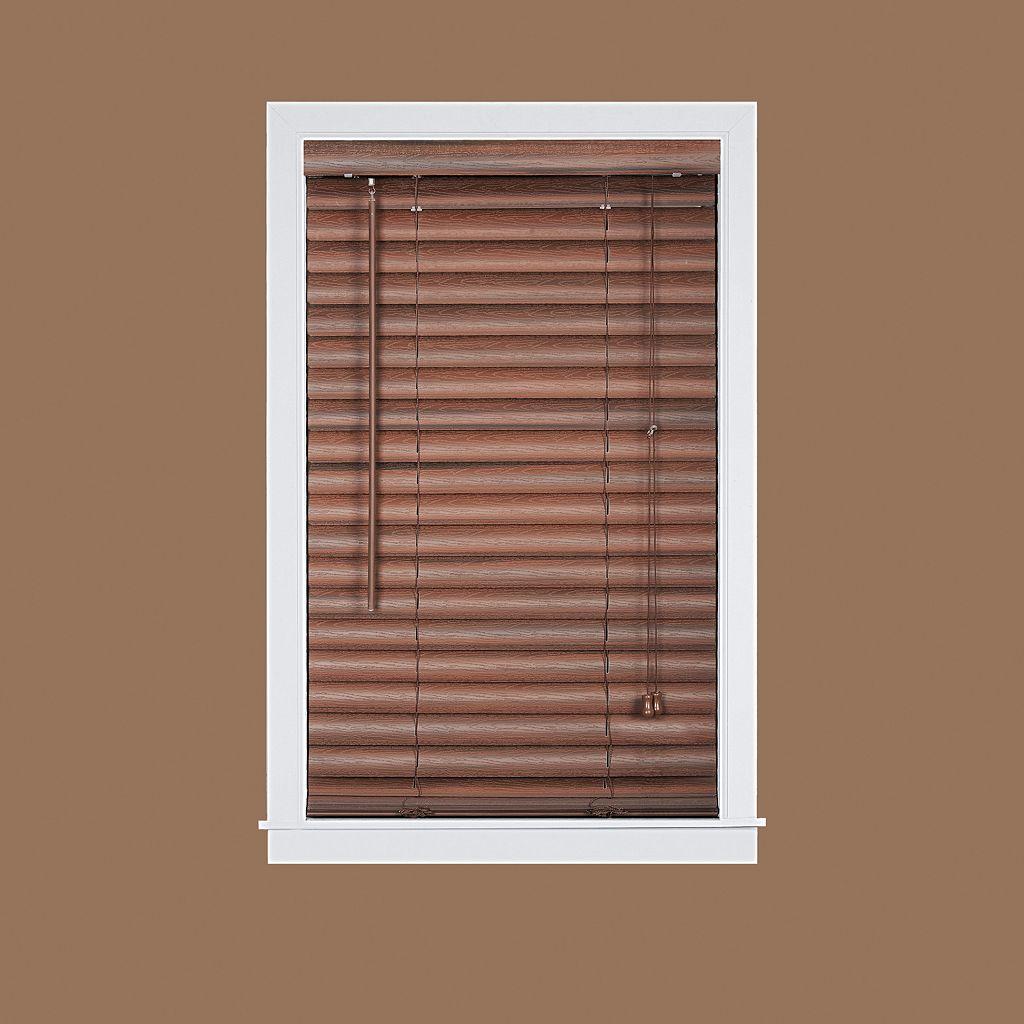 Luna 2'' Slat Faux-Wood Venetian Blinds