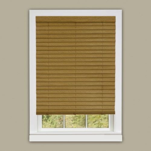 Luna Cordless 2'' Slat Faux-Wood Venetian Blinds
