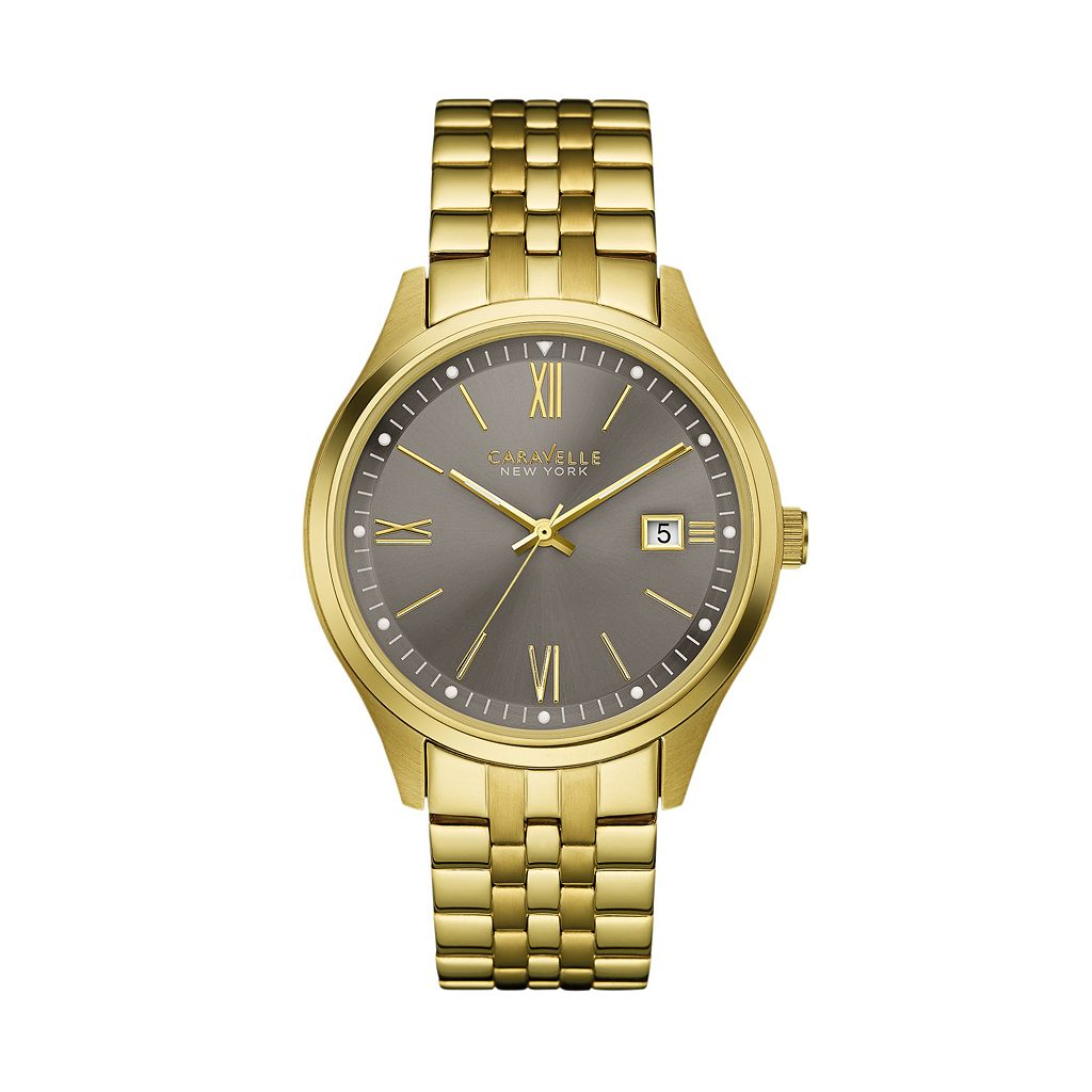 Caravelle New York by Bulova Men's Stainless Steel Watch - 44B111