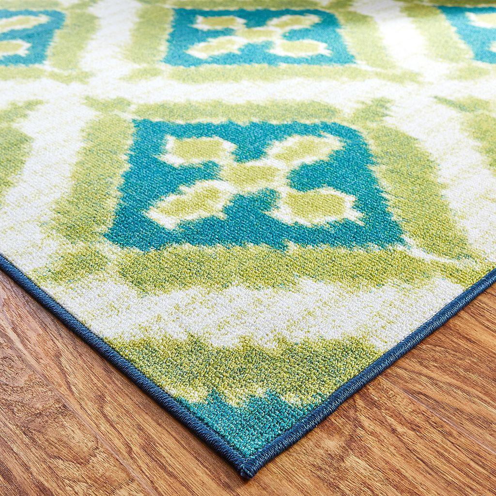 Mohawk® Home Summer Splash Ornamental Indoor Outdoor Rug