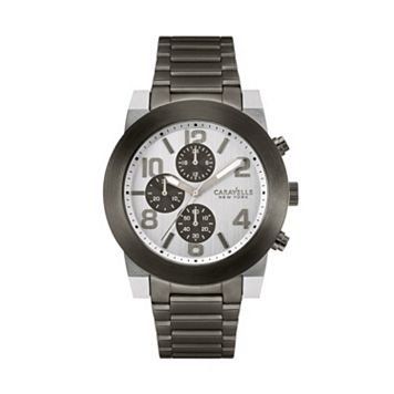 Caravelle New York by Bulova Men's Stainless Steel Chronograph Watch - 45A127