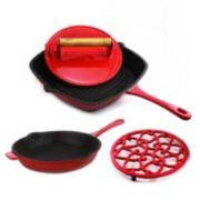 BergHOFF 4-pc. Cast-Iron Cookware Set
