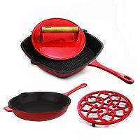 BergHOFF 4 pc Cast-Iron Cookware Set