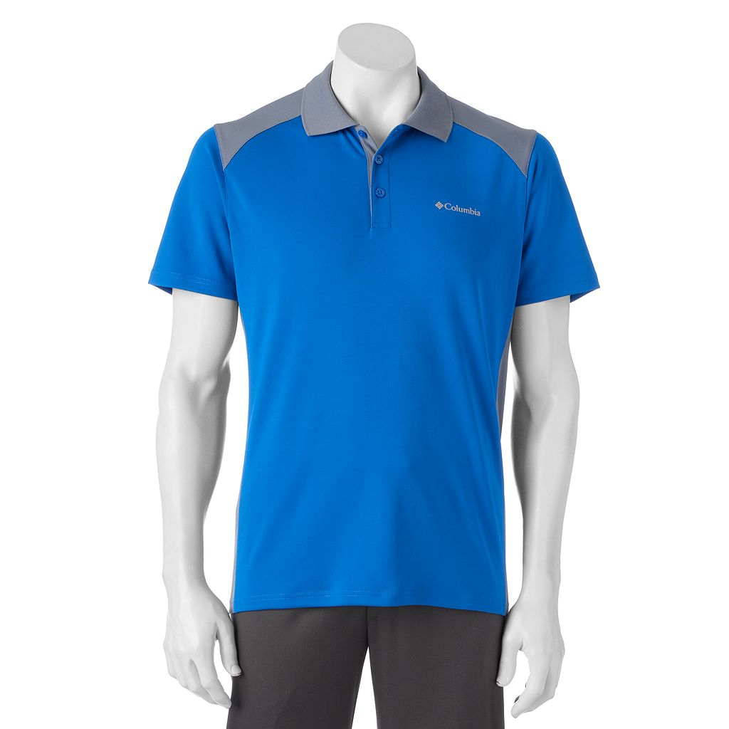 Men's Columbia Omni-Wick Werner Bay II Polo