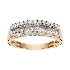 1/2 Carat T.W. Diamond 10k Gold Ring