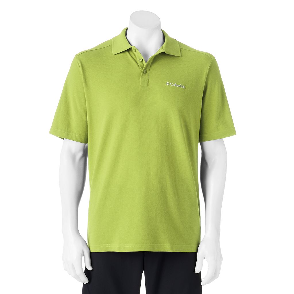 Men's Columbia Omni-Wick Cottonwood Canyon Polo
