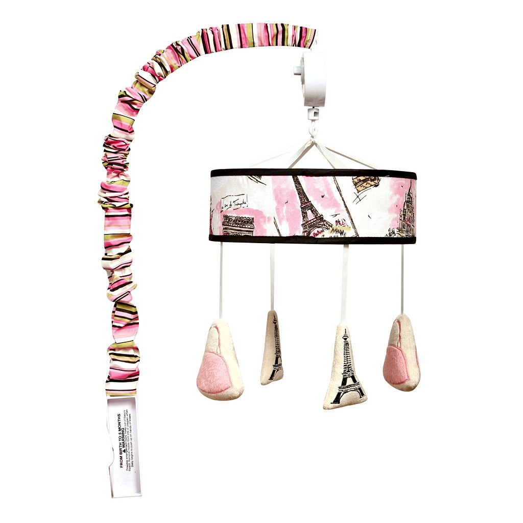 Waverly Baby by Trend Lab Tres Chic Musical Mobile by Trend Lab