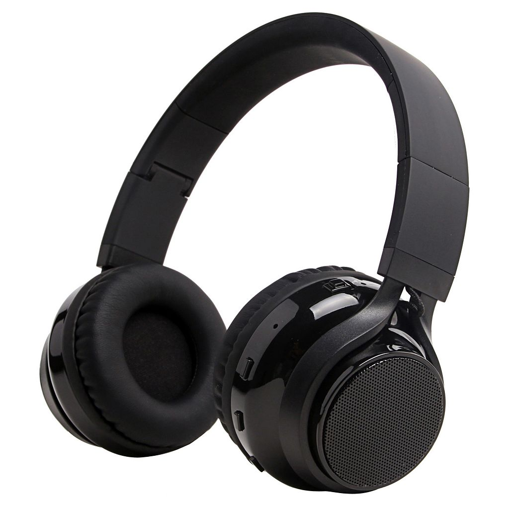 iLive Over-Ear Wireless Stereo Headphones with Built-In Speakers