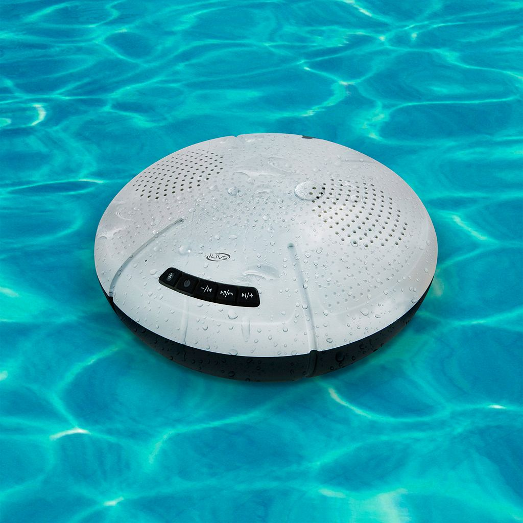 iLive Water-Resistant Floating Bluetooth Speaker