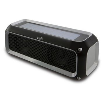 iLive Water-Resistant Solar Power Bluetooth Speaker