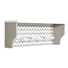 Trend Lab Chevron Shelf