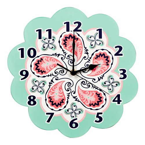 Trend Lab Paisley Wall Clock