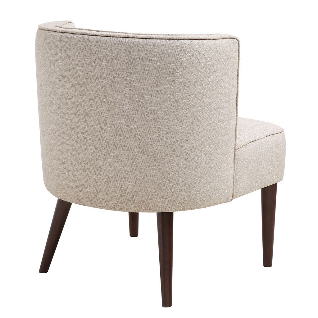 Madison Park Britta Button Tufted Curved Back Chair