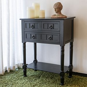 Decor Therapy Simplify 3-Drawer Console Table