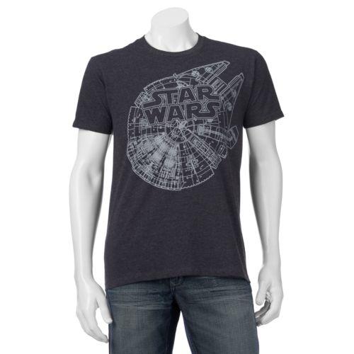 Men's Star Wars Falcon Plans T...