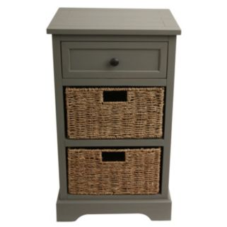 Decor Therapy Antiqued Basket Chest
