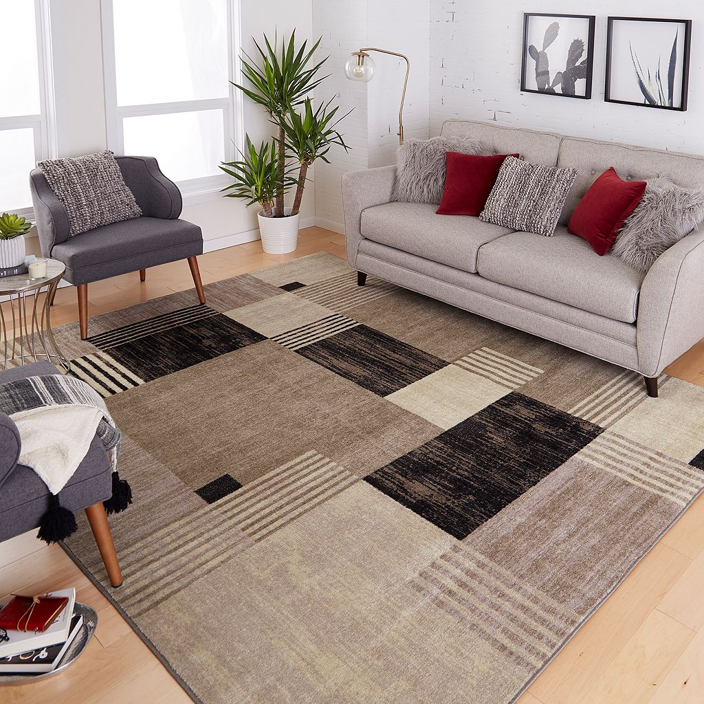Mohawk® Home Alliance Geometric Squares Rug