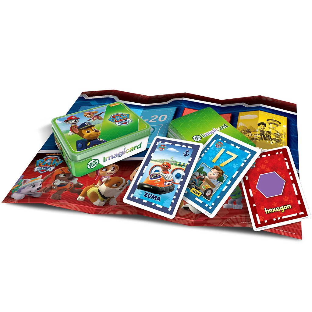 LeapFrog Imagicard Paw Patrol Learning Game