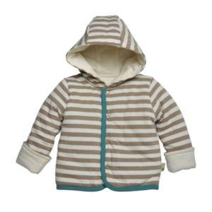 Baby Boy Burt's Bees Baby Organic Reversible Hooded Jacket
