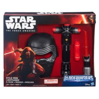 Star Wars: Episode VII The Force Awakens Kylo Ren Bladebuilders Lightsaber & Mask Set by Hasbro