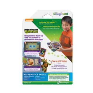 LeapFrog Imagicard Teenage Mutant Ninja Turtles Learning Game