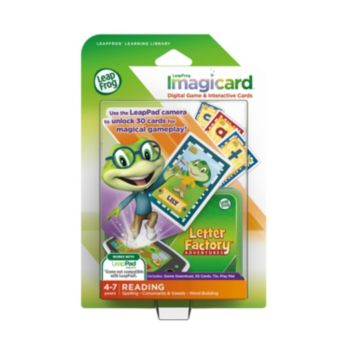 LeapFrog Imagicard Letter Factory Adventures Learning Game