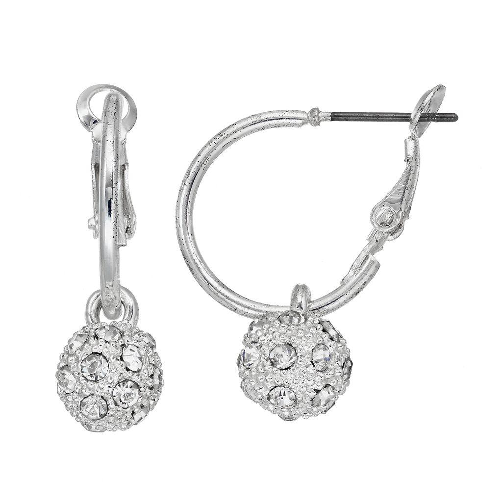 Mudd® Fireball Nickel Free Hoop Earrings