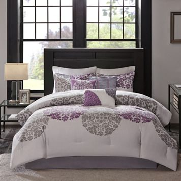 Madison Park 6-piece Forbes Duvet Cover Set
