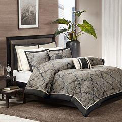 Madison Park Barrett 8 pc Comforter Set