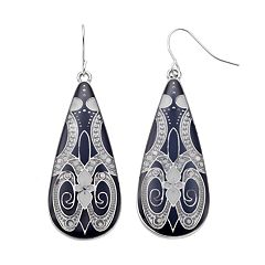 Mudd® Filigree Teardrop Earrings