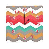 Waverly Baby Pom Pom Chevron Wall Clock by Trend Lab