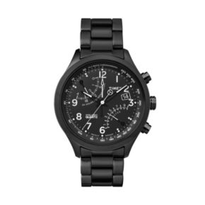 Timex Men's Intelligent Quartz Fly-Back Stainless Steel Chronograph Watch - TW2P60800DH