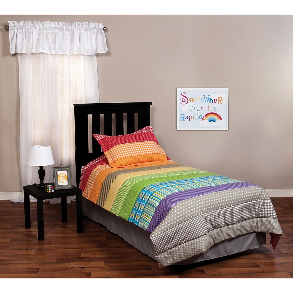 Trend Lab Rainbow Connection 2-pc. Twin Bedding Set