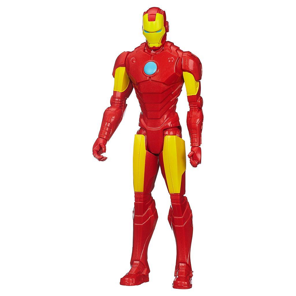 Marvel Avengers Titan Hero Series 12-in. Iron Man Figure by Hasbro