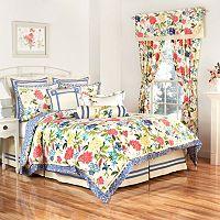 Waverly Charmed 4-pc. Reversible Comforter Set