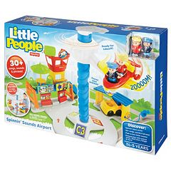 Fisher-Price Little People Spinnin' Sounds Airport by