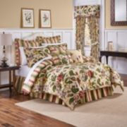 Waverly Laurel Springs 4-pc. Reversible Comforter Set