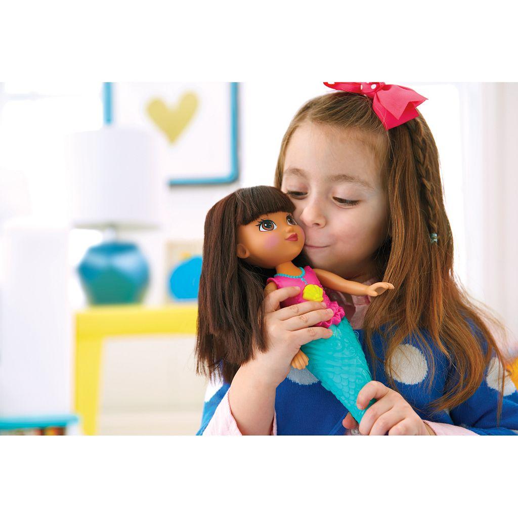 Dora & Friends Sparkle & Swim Mermaid Dora by Fisher-Price