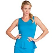Women's Tail Seaside Glow Lucille Peplum Tennis Tank