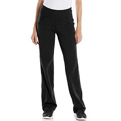 Womens Black Active Pants - Bottoms, Clothing | Kohl's