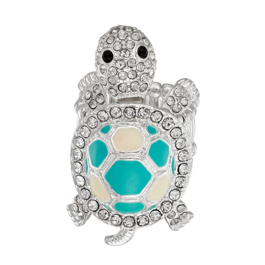 Mudd® Turtle Stretch Ring